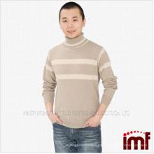 Suéter de cachemir puro para hombre