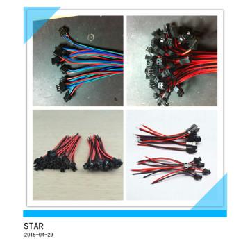Пара 2pin Разъем кабель светодиодные лампы полосы Разъем провода