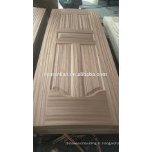 peaux de porte en mdf décoratif découpant la peau de panneau de porte design