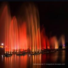 Fontaine d'eau réglable de musique de danse