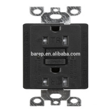YGB-094NL GFCI 15A tamper resistant industrial electrical usa outlet socket receptacle designed for generators