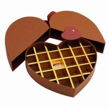 Love Heart Chocolate Gift Paper Drawer Box