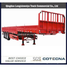 Tri-Axle Side Wall Semi Trailer Used for Bulk Cargo Transport
