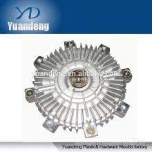 Piezas de fundición a presión de aluminio a medida piezas de metal del embrague del ventilador
