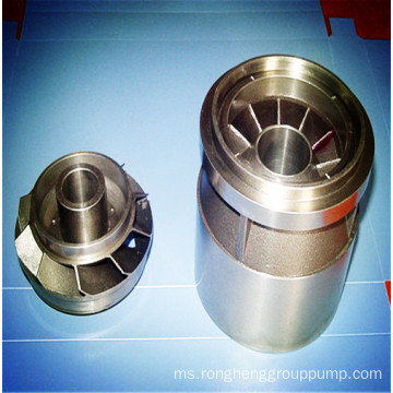 Precision casting oil extraction pump guide wheel