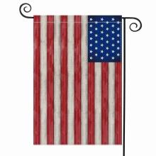 Benutzerdefinierte Design USA Polyester Stoff Garten Yerd Flagge