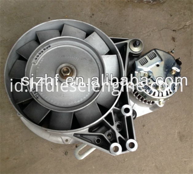 FL511 fan alternator support assy 1