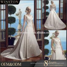 Alta qualidade últimos vestidos de dama de honra de casamento