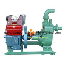 Abfall und Flut Kämpfer Pumpe