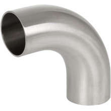 AS1528 Sanitary 90 degree elbow long weld