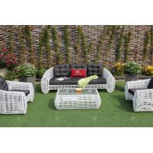 Erstaunliche Design Synthetische Bambus Rattan Sofa Set Für Outdoor Garten Oder Wohnzimmer