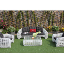 Amazing Design Synthetic Bamboo Rattan Sofa Set For Outdoor Garden Or Living Room