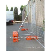 ISO9001 Caliente de inmersión de metal galvanizado temporales paneles de malla de malla