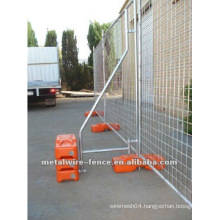 ISO9001 Hot-dipped Galvanized Metal Temporary Mesh Fence Panels