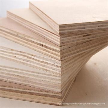 China Good Quality Laminated Poplar Hardwood Combi Plywood Fine Furniture Plywood Sheets