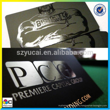 Printing raised business card, personal business card, good price spot uv business cards,
