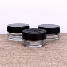 60ml thick wall concentrate glass jars child resistant lid