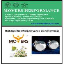 Nutrição rica do OEM (fórmula da mistura de No / Endruance)