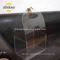JINBAO factory customized clear acrylic shoe case square box