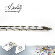 Destin bijoux cristaux de Swarovski céramique blanc Bracelet