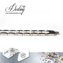 Destiny Jewellery Crystals From Swarovski Ceramics White Bracelet