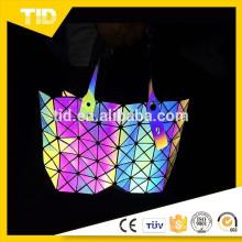 модные сумки 2015, светоотражающие сумка