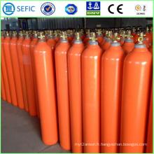 Cylindre remplissant sans couture d'hélium d'acier de 50L (EN ISO9809)