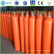 50L Refillable Seamless Steel Helium Cylinder (EN ISO9809)