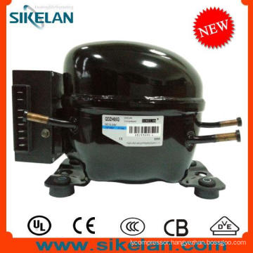 High Efficiency DC Compressor 12V 24V Compressor Qdzh65g R134A Lbp for Car Refrigerator Freezer