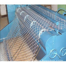 Steel Chain Link Wire Mesh, Zinc Coated or PVC Coated