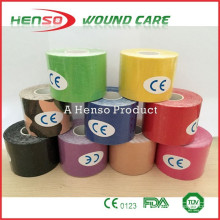 HENSO Colored Medical Disposable Kinesiology Tape                                                                         Quality Choice                                                                     Supplier's Choice