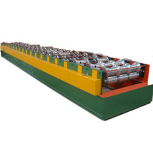 Electric appliance cabinet rail roll forming machine