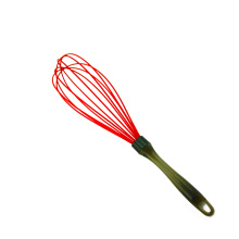 Durable silicone wire balloon whisk