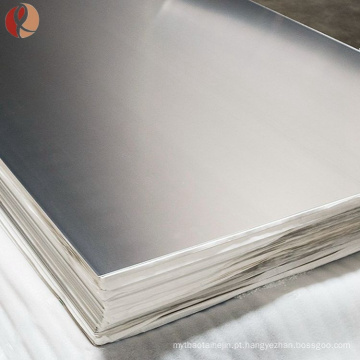 china iso 9001-2008 astm f67 médicos gr2 placa de titânio fornecedores