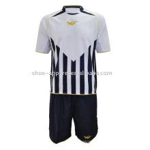 Jersey de fútbol personalizado kit de fútbol de moda