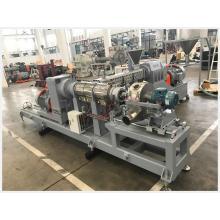 Экструзионная линия для производства двойных труб конического двухшнекового экструдера из ПВХ