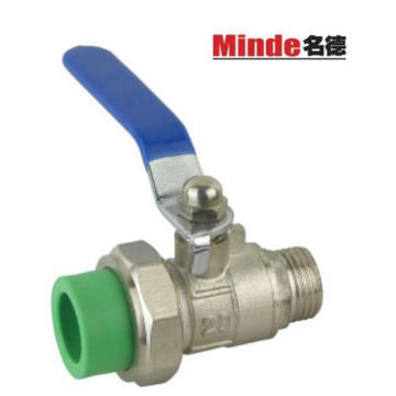 PPR Ball Valve with Male Threaded Insert