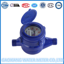 Dn15mm Dry Dial Cold Water Meter of ABS Plastic Material
