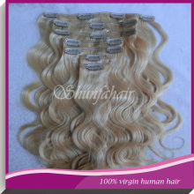 26 inch virgin remy brazilian hair weft,Brazilian clip in hair extension ,hair extensions blonde weft wavy