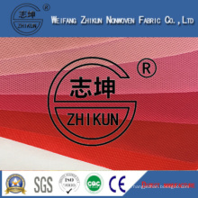Different Red Colors PP Spunbond Nonwoven Fabric for Shopping Bags / Handbags