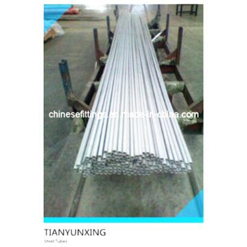 API Asme A213 TP304 Tp316L Tp321 Tubos de aço inoxidável sem costura