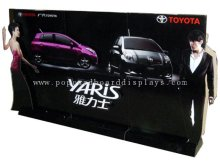 Custom Advertising Portable Standee Display Cardboard  Stand Ensd005 Easy For Folding