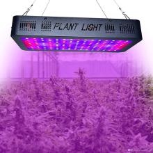 светодиодная панель для выращивания 1200 Вт Двойной переключатель для овощей / цветов