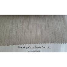 Nouveau tissu de rideau transparent Organza Voiture Stripe de projet populaire 0082102