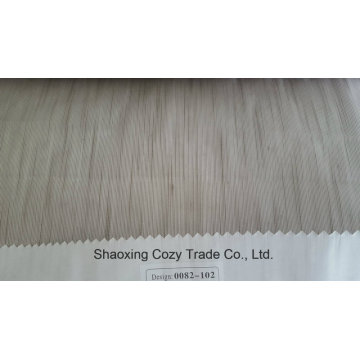 New Popular Project Stripe Organza Voile Sheer Curtain Fabric 0082102