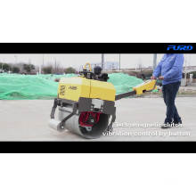 Гидравлический привод FYL-750 Ручная одиночная стальная дорожная катковая машина
