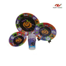 NEW Halloween Party Supplies Tableware Set