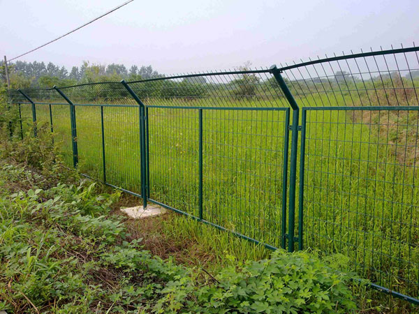 Framed Protection Fence