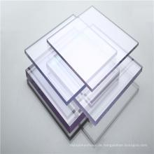 Polycarbonat-Markisen-Massivplatte durchsichtige Kunststoffplatte