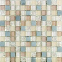 330X330mm Glitter Crystal Glass Mosaic Tile in Foshan (AJFG11)
